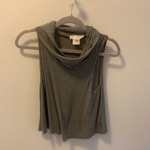 Size S Urban Outfitters cowl neck sleeveless